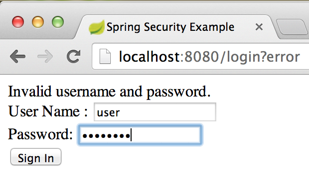 Part 5: Integrating Spring Security with Spring Boot Web | I think ...